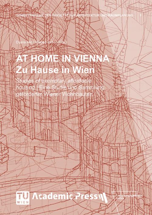 """Cover des Buches """"AT HOME IN VIENNA. Zu Hause in Wien"""""""