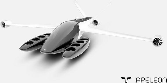 Ein elektrisches Flugzeug